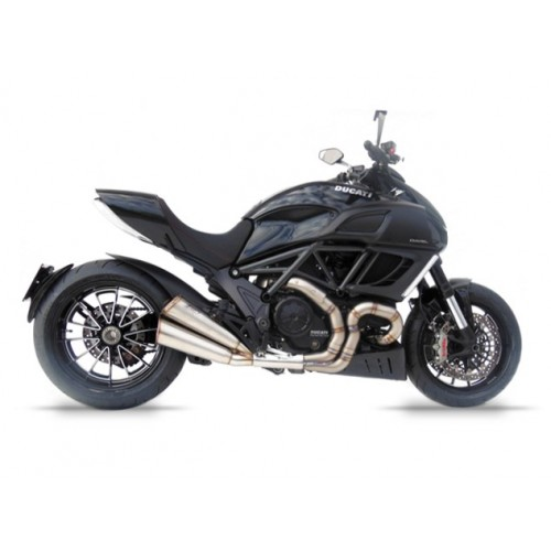 SILENCER INOX LIMITED EDITION DIAVEL 2011-2018