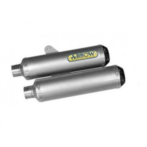 SILENCER DOUBLE ROUND-SIL TITANIUM APPROVED