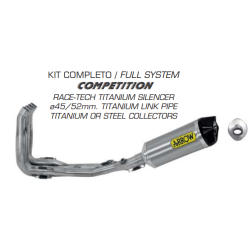 KIT COMPLETO COMPETITION ARROW RACING
