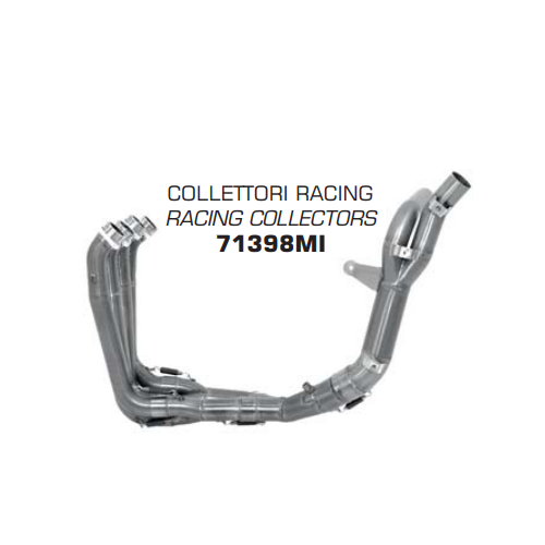 COLLECTOR STAINLESS STEEL RACING ARROW