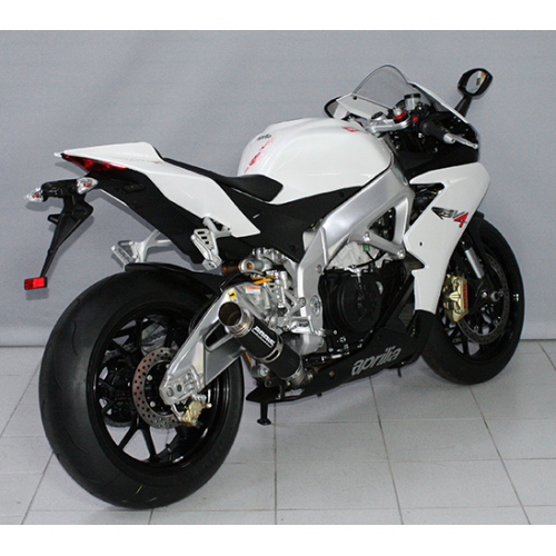 SILENCER GP1 BLACK STEEL RACING BODIS EXHAUST