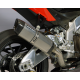 SILENCER P-TEC II BLACK STEEL RACING BODIS EXHAUST