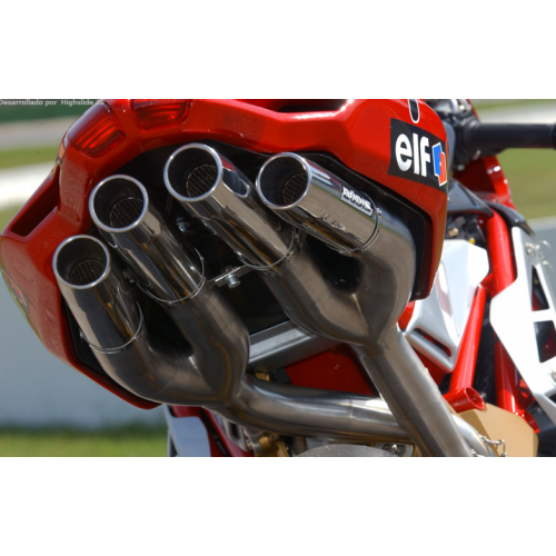 SILENCER QUATTRO FR BODIS EXHAUST NOT APPROVED