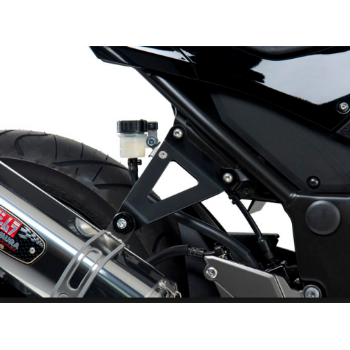 BLACK STEEL SUPPORT EXHAUST YOSHIMURA