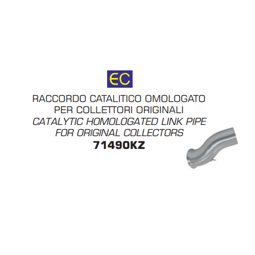 LINK PIPE HOMOLOGATED CATALYZED ARROW
