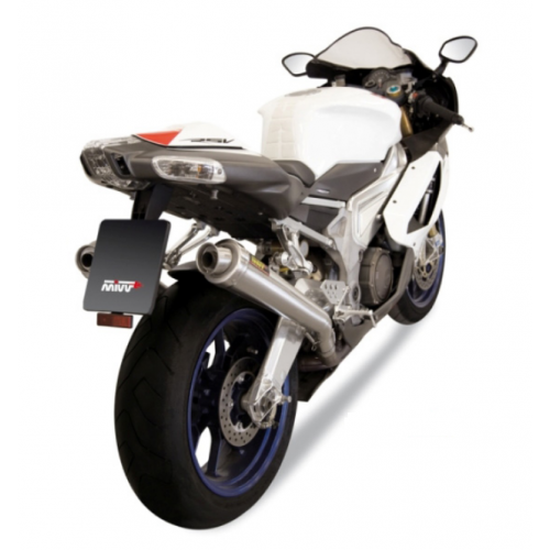 DOUBLE EXHAUST X-CONE STAINLESS STEEL MIVV APPROVED