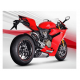 SILENCER AKRAPOVIC PANIGALE R NOT APPROVED