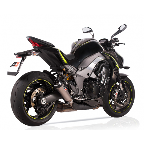 DOUBLE EXHAUST TRI-CONE QD EXHAUST APPROVED