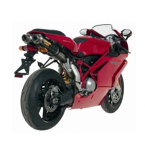DOUBLE EXHAUST GP CARBON MIVV APPROVED