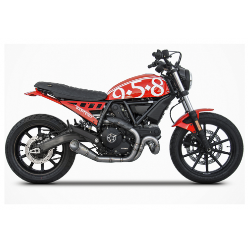 KIT COMPLETE ZARD 2 IN 1 STAINLESS STEEL SCRAMBLER SIXTY2