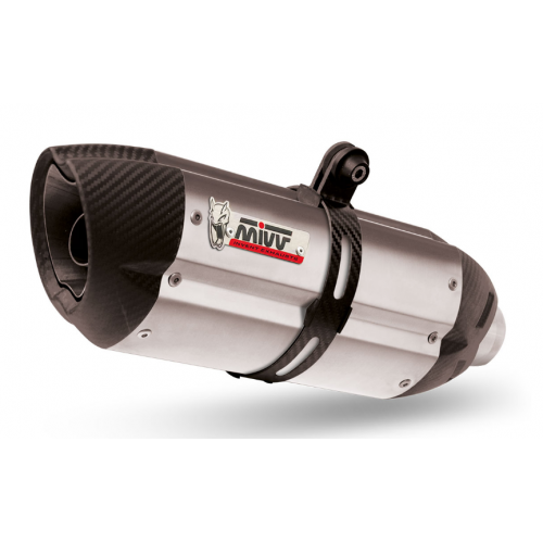 EXHAUST DOUBLE SUONO MIVV APPROVED