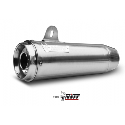 STAINLESS EXHAUST MIVV GHIBLI APPROVED