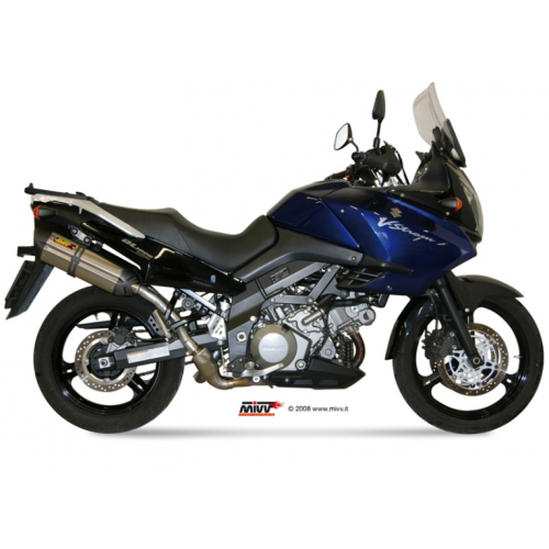 ESCAPE SUONO INOXIDABLE MIVV DL V-STROM 1000 2002-13