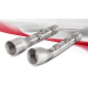 STAINLESS EXHAUST AKRAPOVIC APPROVED