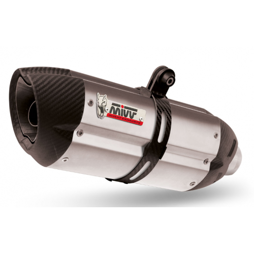 EXHAUST SUONO MIVV APPROVED DL V-STROM 1000 2002-13