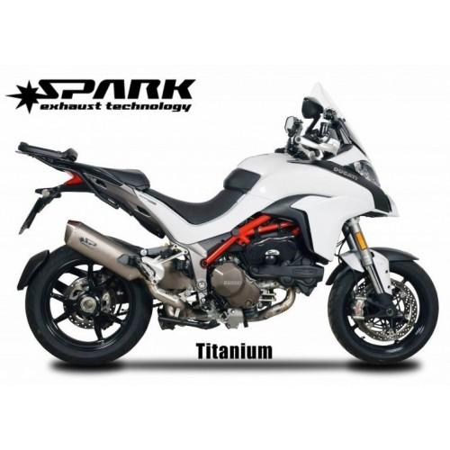 EXHAUST + TITANIUM COLLECTOR SPARK MULTISTRADA 1200