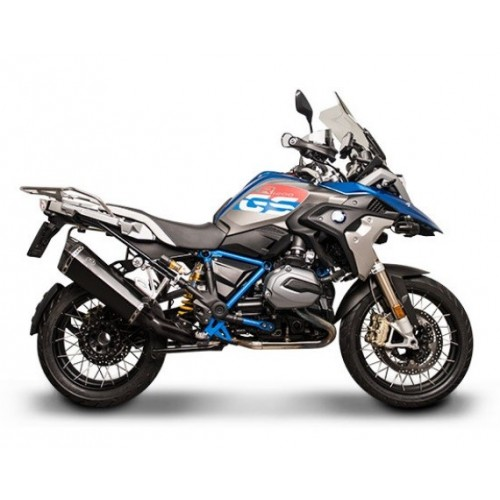 BLACK STEEL EXHAUST TERMIGNONI R 1200 GS 17-18