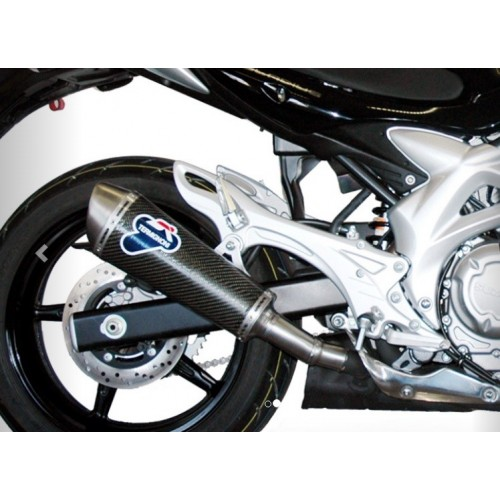 OVAL CARBON EXHAUST TERMIGNONI APPROVED