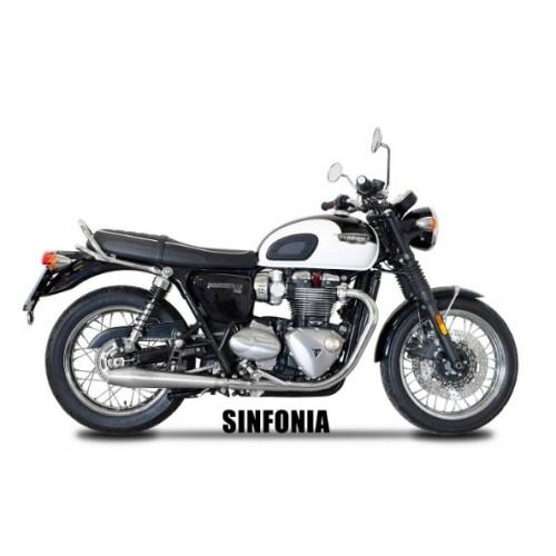 EXHAUST SINFONI SPARK BONNEVILLE T120