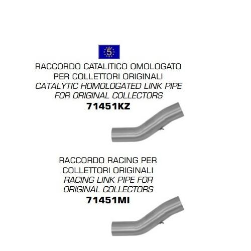 TUBO ENLACE ACERO INOXIDABLE RACING