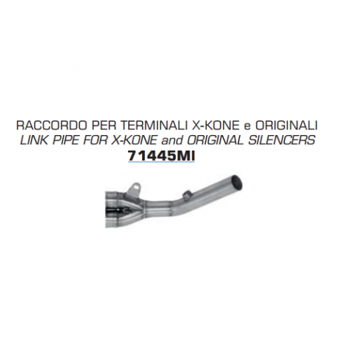 TUBO DE ENLACE CONECTOR ARROW PARA X-KONE Y ORIGINAL