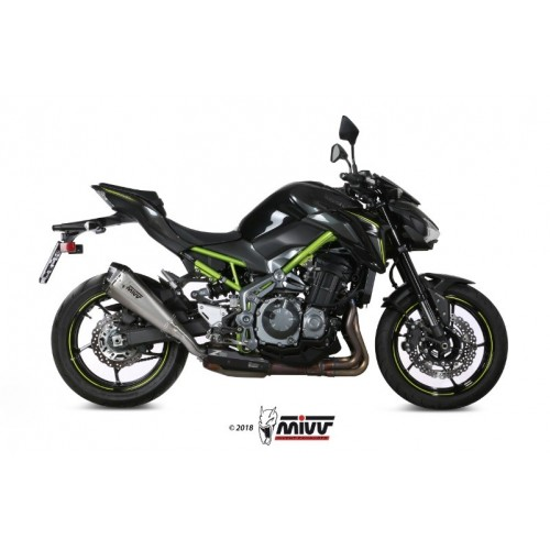 DELTA RACE EXHAUST APPROVED MIVV Z 900 2017