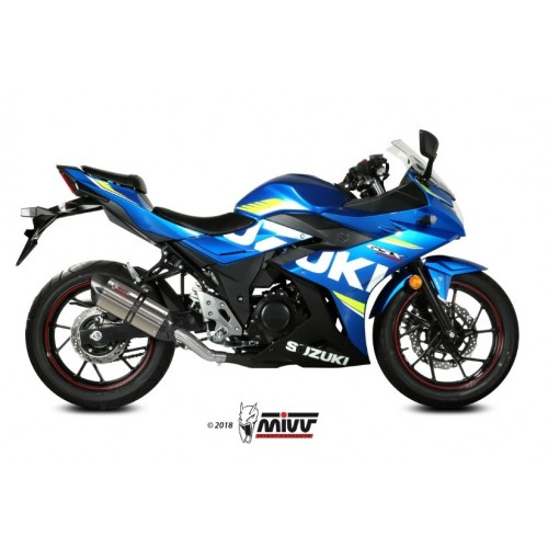 SUONO EXHAUST APPROVED MIVV GSX 250 R 2017-18
