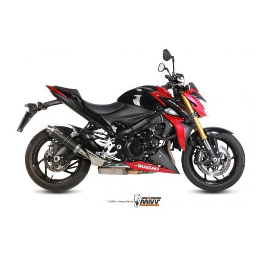 GP EXHAUST MIVV APPROVED GSX-S 1000 2015-