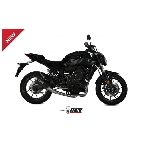 EXHAUST FULL GP PRO APPROVED MIVV MT-07 2014