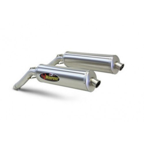 DOBLE ESCAPE AKRAPOVIC RACING MONSTER 620 2002-06