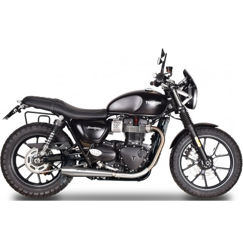DOUBLE EXHAUST SINFONIA SPARK STREET TWIN 900 (17-18)