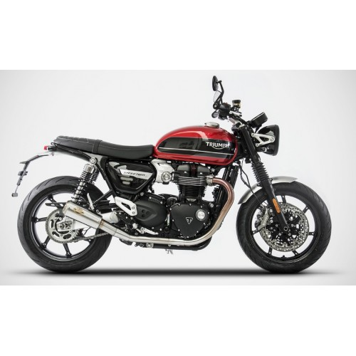 DOUBLE EXHAUST SP ZARD SPEED TWIN 2018-19 NOT APPROVED