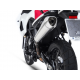 CONCRETE EXHAUST POLISHED MIRROR ZARD F 800 GS