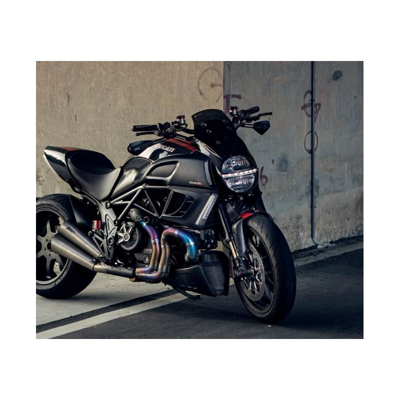SILENCER BLACK STEEL LIMITED EDITION DIAVEL 2011-2018