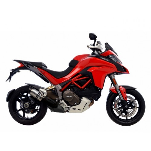 EXHAUST STAINLESS LEOVINCE MULTISTRADA 1200S D / AIR 2015-17