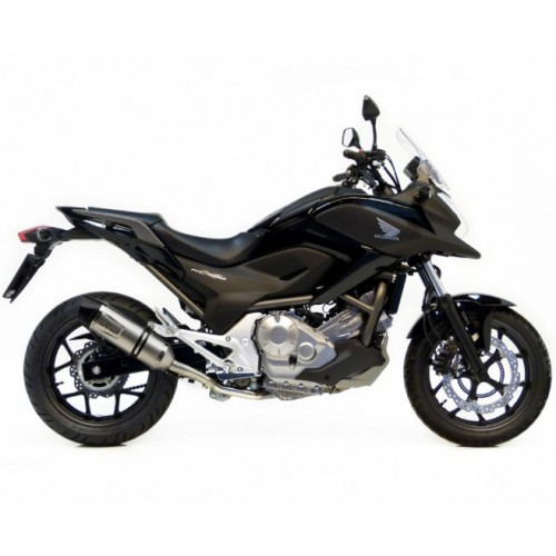 STAINLESS STEEL EXHAUST EURO 3 LEOVINCE CRF 1000 L AFRICA TWIN 16-17