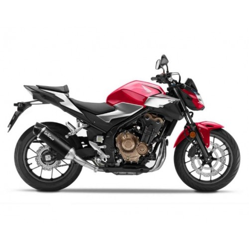 SILENCER EXHAUST NERO LEOVINCE CB 500 F 2019-20
