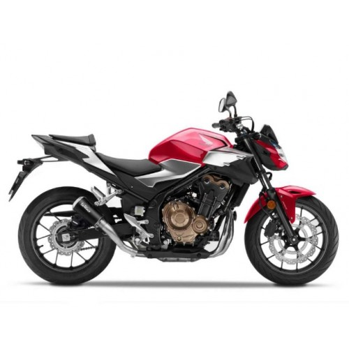 BLACK EXHAUST LV-10 LEOVINCE CB 500 F 2019-20