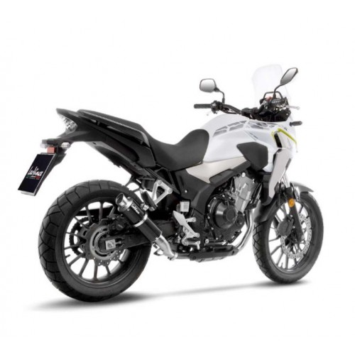 SILENCER BRIGHT CARBON LEOVINCE CB 500 F 2019-20