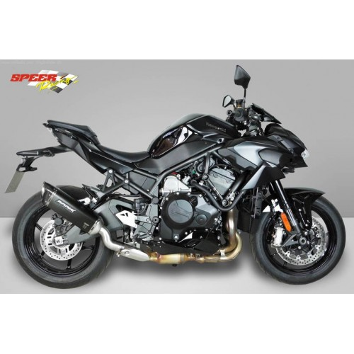 SILENCER V4-M-CA BLACK BODIS EXHAUST APPROVED