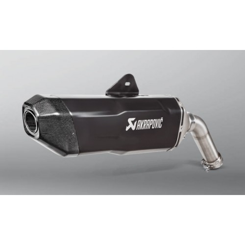 TITANINUM/CARBON EXHAUST AKRAPOVIC APPROVED