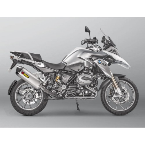 EXHAUST AKRAPOVIC TITANIUM APPROVED