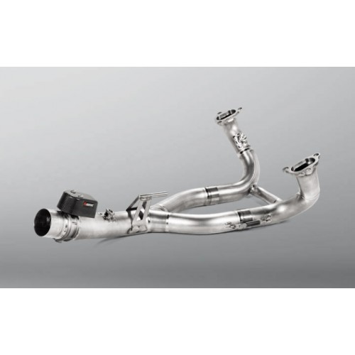 OPTIONAL MANIFOLD TITANIUM AKRAPOVIC NOT APPROVED