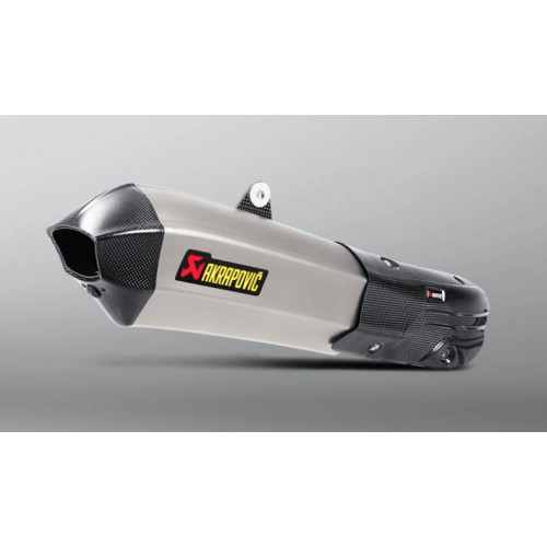 SLIP-ON Line Titanium Akrapovic exhaust