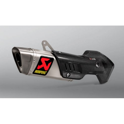 EXHAUST SLIP-ON MULTISTRADA 1200/1260 AKRAPOVIC
