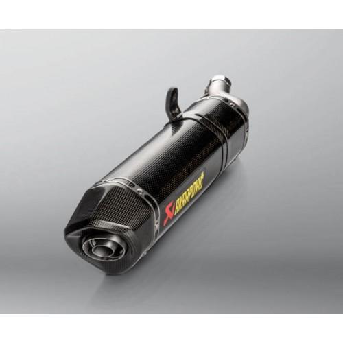 Homologated Akrapovic Carbon Exhaust