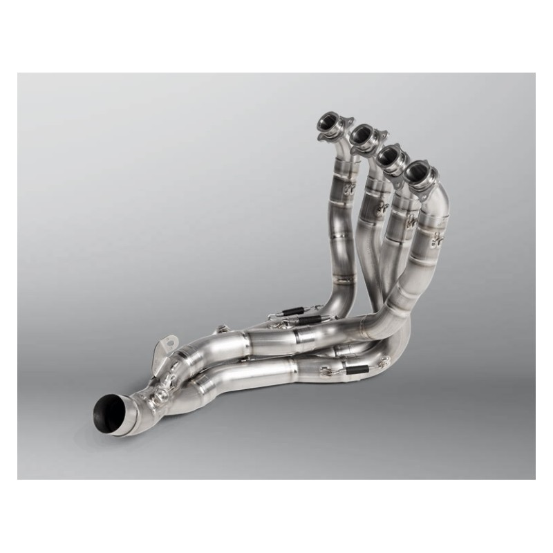 Optional Akrapovic Stainless Steel Manifold