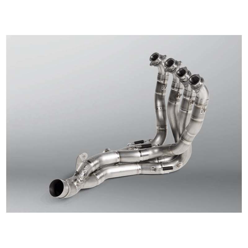Optional Titanium Akrapovic Manifold