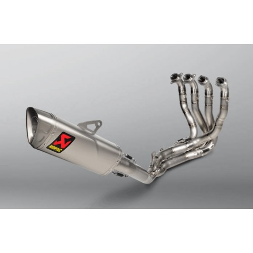 Complete Racing Line Akrapovic System