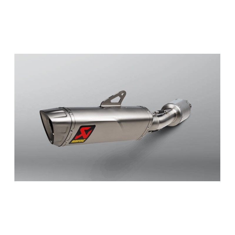 Akrapovic Titanium Exhaust Not Approved